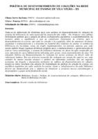 POLÍTICA DE DESENVOLVIMENTO DE COLEÇÕES NA REDE MUNICIPAL DE ENSINO DE VILA VELHA – ES