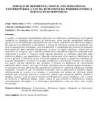 SERVIÇO DE REFERÊNCIA DIGITAL NAS BIBLIOTECAS UNIVERSITÁRIAS À LUZ DA HUMANIZAÇÃO: POSSIBILITANDO A INTERAÇÃO INTERPESSOAL