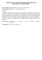 PASSATEMPO: ESPAÇO DE DESCONTRAÇÃO NUMA BIBLIOTECA UNIVERSITÁRIA