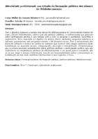 Identidade profissional: um estudo da formação política dos alunos de Biblioteconomia
