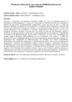 Mentoria Voluntária no curso de Biblioteconomia da FaBCI-FESPSP