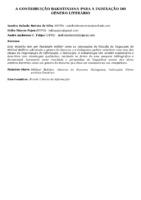 A CONTRIBUIÇÃO BAKHTINIANA PARA A INDEXAÇÃO DO GÊNERO LITERÁRIO