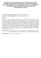 ANÁLISE DA PAISAGEM RURAL SOB A ÓTICA DOS CENSOS AGROPECUÁRIOS DE 1970 E 2006 E O CAMPO TRAÇADO NO ATLAS DO ESPAÇO RURAL BRASILEIRO (2011): UMA PROPOSTA NO ÂMBITO DOS SISTEMAS DE ORGANIZAÇÃO DO CONHECIMENTO (SOCs)