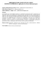 DIRETRIZES PARA INDEXAÇÃO DE OBRAS ESTÉTICO-LITERÁRIAS: aplicação em livros internacionais
