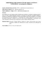 DIRETRIZES PARA INDEXAÇÃO DE OBRAS-ESTÉTICO LITERÁRIAS: uma proposta dialógica.