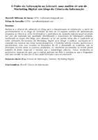 O Poder da Informação na Internet: uma análise de uso do Marketing Digital nos blogs da Ciência da Informação