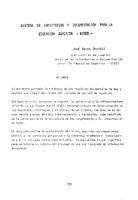 Sistema de Informacion y Documentacion para la Educacion Superior - SIDES.