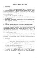 Relatório técnico do 5º SNBU.