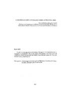 Consideraciones generales sobre Literatura Gris. (Resumo)
