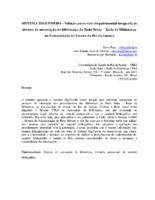 Sistema DIGITOMBO – Solução para controle patrimonial integrada ao sistema de automação de bibliotecas da Rede Sirius – Rede de Bibliotecas da Universidade do Estado do Rio de Janeiro.