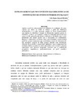 Estilos gerenciais no contexto das Bibliotecas de Ensino Superior em Manaus.