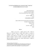 Avaliação do programa de capacitação de usuários do Sistema de Bibliotecas da UNICAMP.