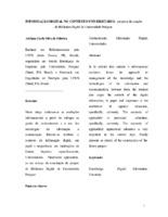 Informação digital no contexto universitário: proposta de criação da Biblioteca Digital da Universidade Potiguar.