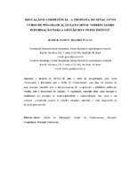 """Educação e competência: a proposta do SENAC- SP no curso de pós-graduação Lato Sensu """" Gerenciando Informação para a Gestão do Conhecimento""""."""
