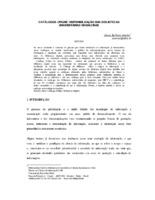 Catálogo online: disponibilização das bibliotecas universitárias brasileiras.