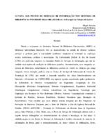 O papel dos postos de serviços de informação nos sistemas de bibliotecas universitárias brasileiras: o exemplo da coleção do LAMCE.
