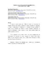 Modelo de gestão da Divisão de Biblioteca e Documentação - DIBD.