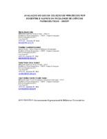 Avaliação do uso da coleção de periódicos por docentes e alunos da Faculdade de Ciências Farmacêuticas- UNESP.