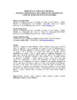 Bibliotecas virtuais e digitais: análise comparativa dos artigos de periódicos e comunicações em eventos.