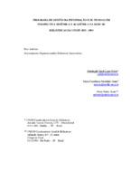 Programa de gestão da informação e de pessoas em perspectivas sistêmica e acadêmica na Rede de Bibliotecas da UNESP: 2001-2004.