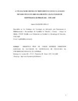 A utilização do serviço de treinamento e consulta às bases de dados pelos usuários da biblioteca da Faculdade de Odontologia de Piracicaba- UNICAMP.