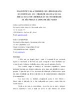 Diagnóstico da acessibilidade à bibliografia recomendada nos cursos de graduação das áreas de saúde e biológicas na Universidade de São Paulo- Campus de São Paulo.