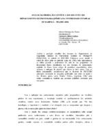 Análise da produção científica dos docentes do Departamento de Engenharia Qímica da Universidade Estadual de Maringá – PR (1995-2000).