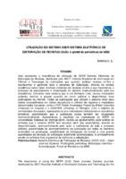 Utilização do Sistema SEER-Sistema Eletrônico de Editoração de Revistas (OJS): o portal de periódicos da UEM.