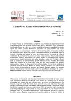 A questão do acesso aberto em Portugal e no Brasil.