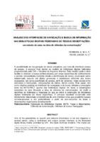 Análise das interfaces de navegação e busca de informação nas Bibliotecas Digitais Federadas de Teses e Dissertações: um estudo de caso na área de ciências da comunicação.
