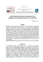 Repositórios digitais e sua colaboração para disseminaçao da produção científica da graduação.
