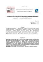 Vida média da literatura de botânica: um estudo bibliométrico para medir a obsolescência da literatura.