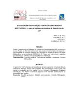 A Abordagem da produção científica como memória institucional: o caso da biblioteca do Instituto de Geociências da USP.