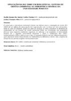 Aplicação da ISO 14001 em bibliotecas: sistema de gestão ambiental na Biblioteca Central da Universidade Positivo.