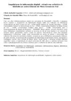 Arquitetura da informação digital : estudo em websites de bibliotecas universitárias de Mato Grosso do Sul.