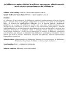 As bibliotecas universitárias brasileiras nas nuvens: plataformas de serviços para gerenciamento de bibliotecas.
