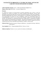 Avaliação da Biblioteca Central da UFGD: estudo de caso de um de estudo de usuários.