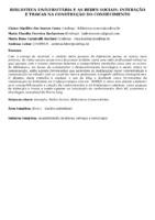 Biblioteca Universitária e as redes sociais: interação e trocas na construção do conhecimento.