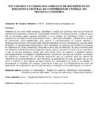 Estudo dos usuários dos serviços de referência da Biblioteca Central da Universidade Federal do Triângulo Mineiro.