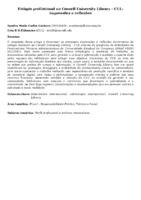 Estágio profissional na Cornell University Library – CUL: impressões e reflexões.