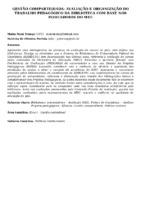 Gestão compartilhada: avaliação e organização do trabalho pedagógico da biblioteca com base nos indicadores do MEC.