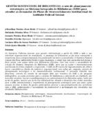 Gestão sustentável de bibliotecas: o uso do planejamento estratégico no Sistema Integrado de Bibliotecas (SIBI) para atender as demandas do Plano de Desenvolvimento Institucional do Instituto Federal Goiano.
