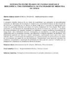 Interação entre planos de ensino digitais e biblioteca: uma experiência na Faculdade de Medicina da UFRGS.