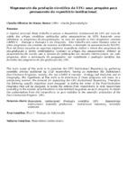 Mapeamento da produção cientifica da UFG: uma pesquisa para povoamento do repositório institucional.