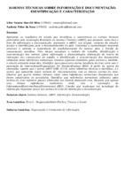 Normas técnicas sobre informação e documentação: identificação e caracterização.
