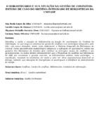 O bibliotecário e sua atuação na gestão de conflitos: estudo de caso do sistema integrado de bibliotecas da UNIVASF.