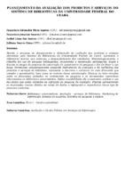 Planejamento da avaliação dos produtos e serviços do Sistema de Bibliotecas da Universidade Federal do Ceará.