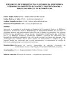 Programa de formação dos usuários da Biblioteca Setorial do Instituto de Saúde e Biotecnologia –ISB/UFAM: relato de experiência.