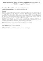 Reestruturação de layout: impactos na biblioteca universitária da UFVJM - Campus Do Mucuri.