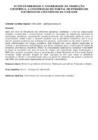 Sustentabilidade e visibilidade da produção científica: a construção do Portal de Periódicos Eletrônicos Científicos da UNICAMP.